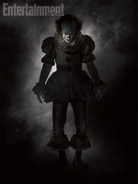 It  Bill Skarsgard Steps Out In New Pennywise Costume