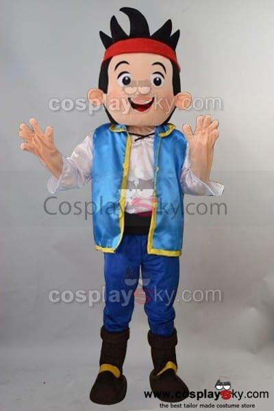 Jake The Neverland Pirate Adult Size Mascot Costume