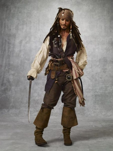 Jack Sparrow Costuming