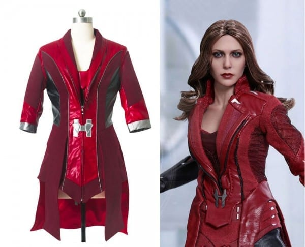 New Scarlet Witch Cosplay Coat Costume Customized Halloween Cloth