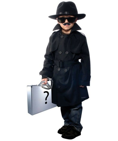 Jr Secret Agent Costume