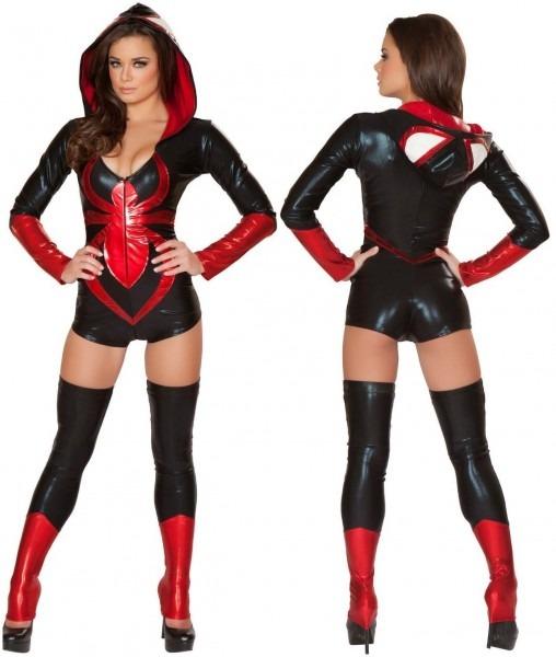 Black Widow Spider Sexy Costume
