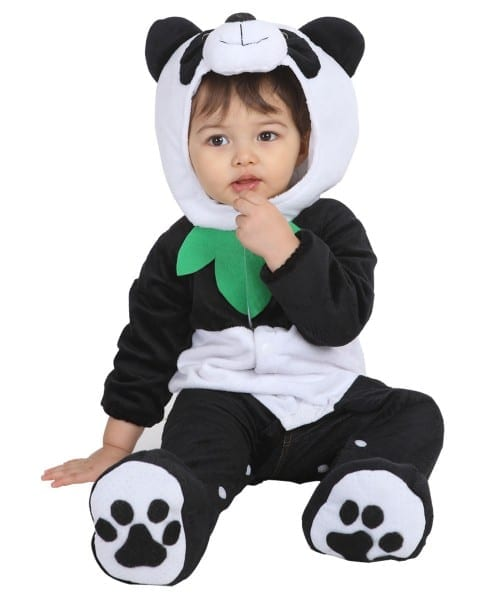 Kids Panda Bear Halloween Costume For Baby Boys And Girls