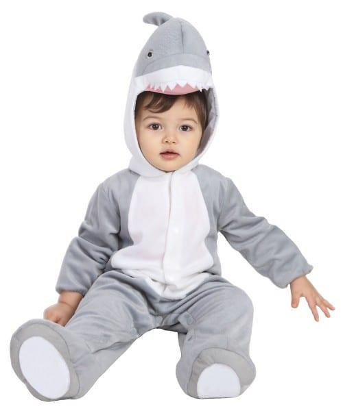 Kids Shark Halloween Costume For Baby Boys And Girls