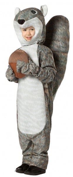 Squirrel Costumes (for Men, Women, Kids)