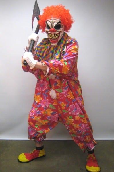 A Killer Clown Costume