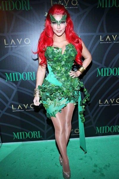 Kim Kardashian Joins Batman's Rogues' Gallery In Poison Ivy