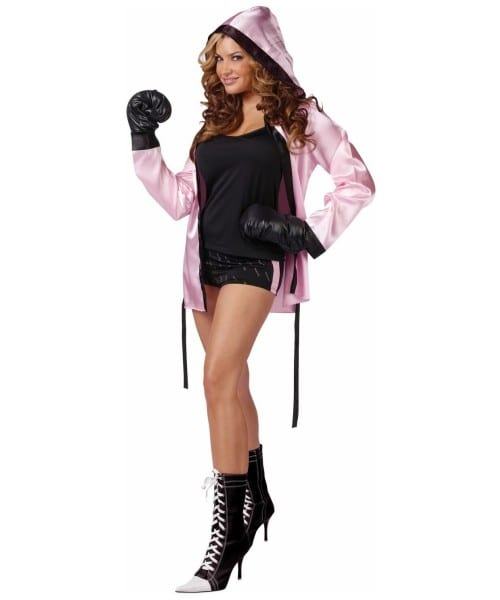 Adult Knockout Boxer Sports Costume