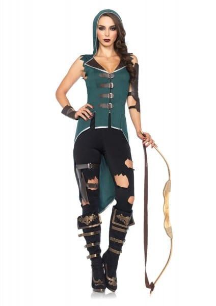 Adult Rebel Robin Hood Woman Costume