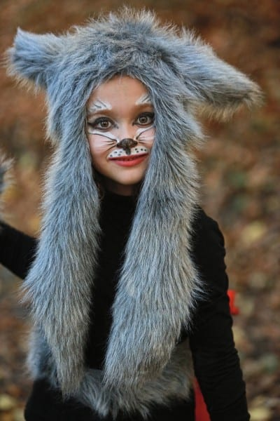 Diy Halloween Kids Costumes Little Red Riding Hood And Wolf