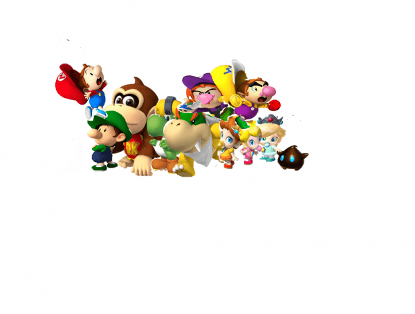 Mario Characters As Babies By Lexi