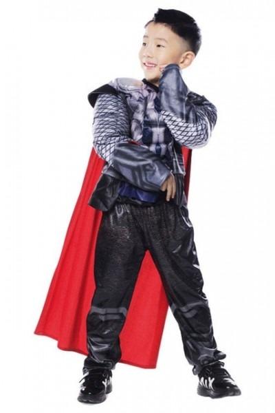 Marvel Thor Cosplay Costume Thor Cosplay Zip Hoodie For Kids