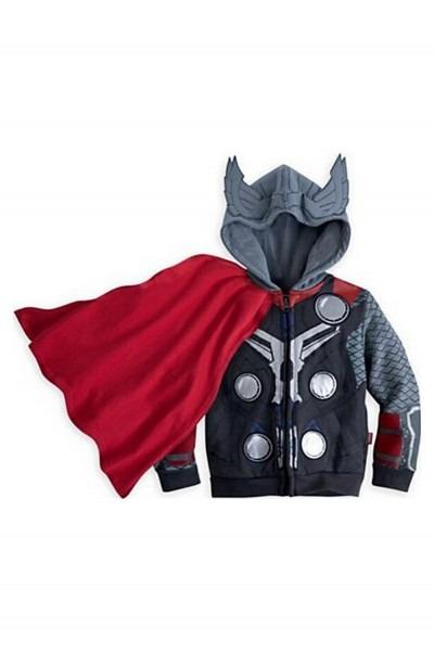Hot Sale Marvel Thor Zip Up Hoodie For Kids Children Cosplay