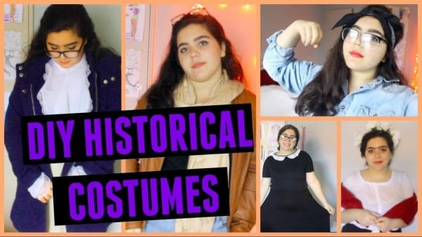 Diy Halloween Costumes! 5 Important Figures In History