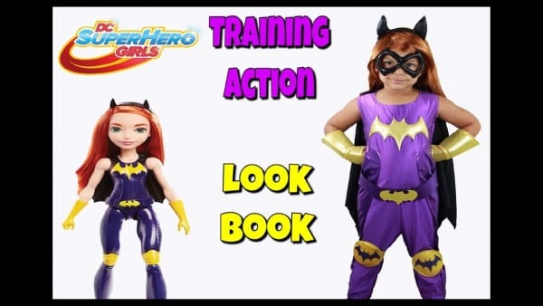 Dc Superhero Girls Training Action Costumes