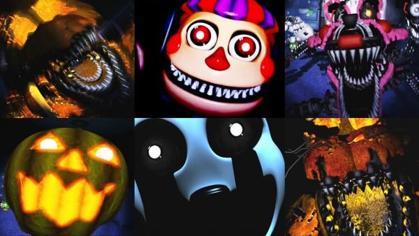 Five Nights At Freddy's 4 Halloween Edition All Jumpscares
