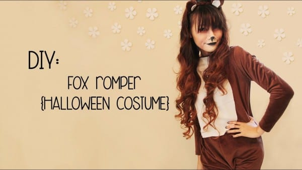 Diy  The Fox {halloween Costume}