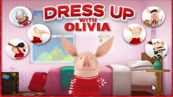 Olivia The Pig Dress Up Game