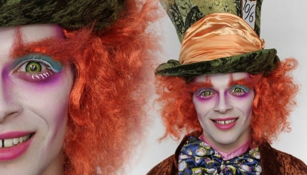 The Mad Hatter Makeup Tutorial For Halloween
