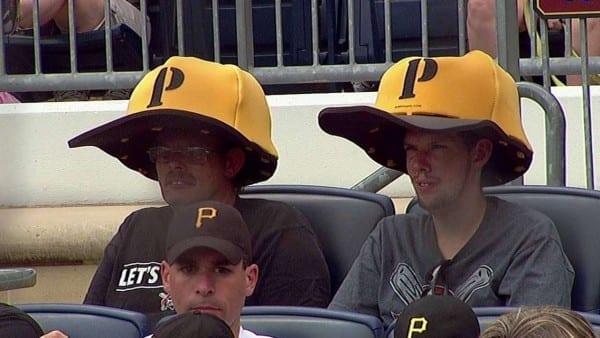 Two Fans Sport Oversized Foam Pirates Hats