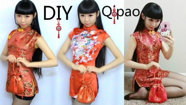 Diy Qi Pao Cheongsam+pattern Making