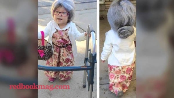 Unbelievably Adorable Photos Of Kids Dressed As Old People