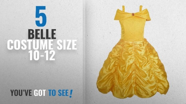 Top 10 Belle Costume Size 10