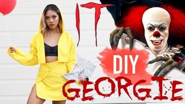 Diy Georgie (it Movie) Halloween Costume For Girls!