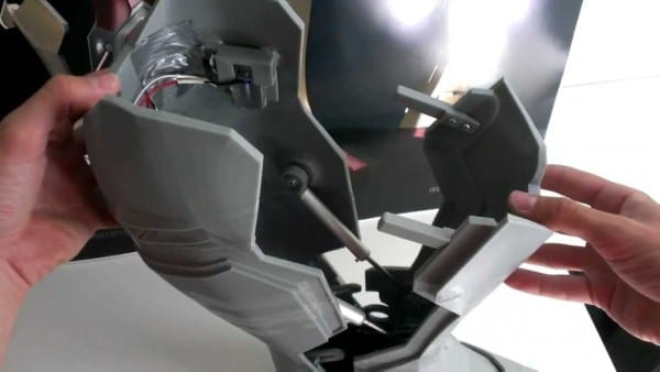 Iron Man Boot V2 Auto Lock Mechanism