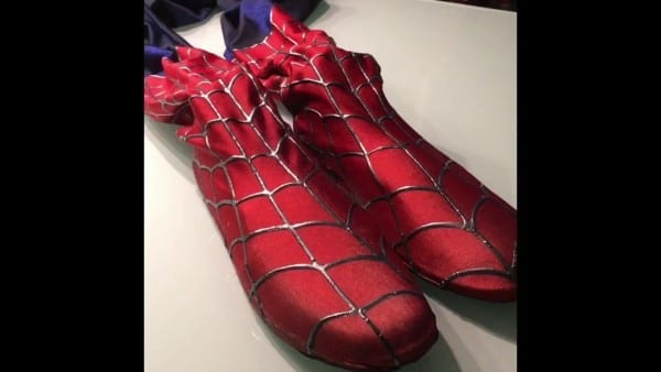 Spiderman Suit New Boots Inside