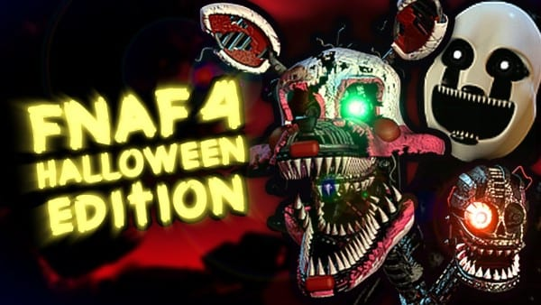 Five Nights At Freddy's 4  Halloween Edition Gameplay + All