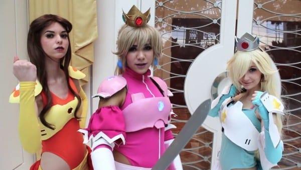Battle Peach, Battle Rosalina And Warrior Daisy! Super Mario Bros
