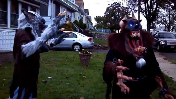 Demon Beast And Midnight Howler Creature Reachers