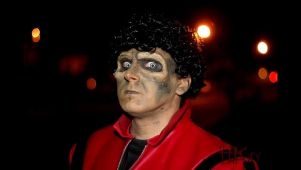 Michael Jackson's Thriller Makeup