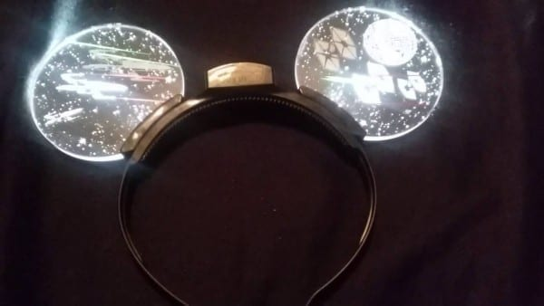 Star Wars Mickey Light Up Ears