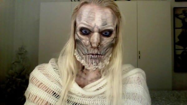 White Walker Makeup Tutorial
