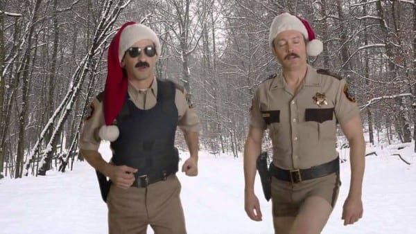 A Special Message From Reno 911! Lt  Dangle And Deputy Travis