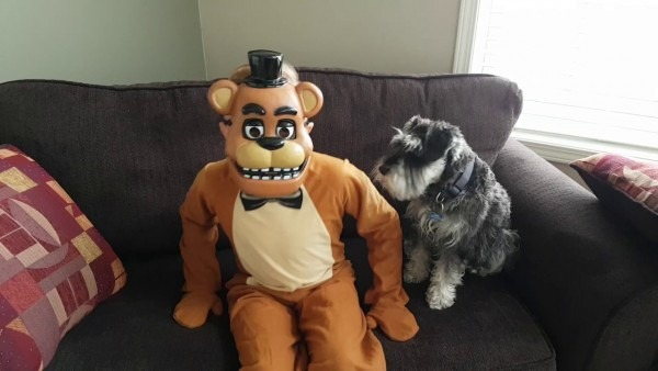 Fnaf Freddy Halloween Costume!!!!!!!