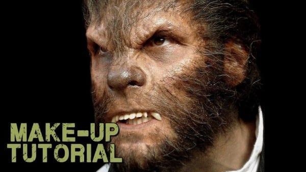 Werewolf Transformation Makeup