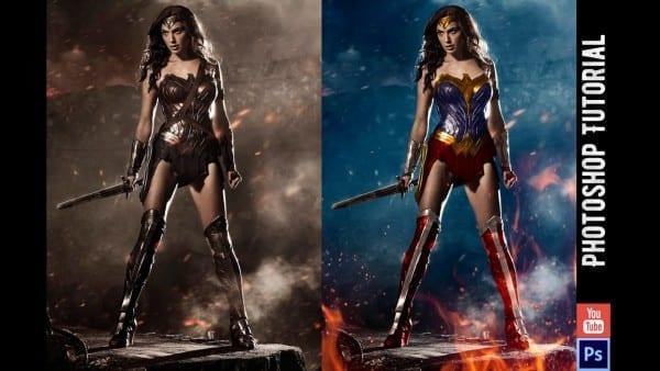 Wonder Woman's Costume