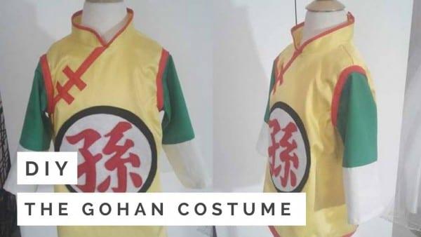 Diy  The Gohan Costume