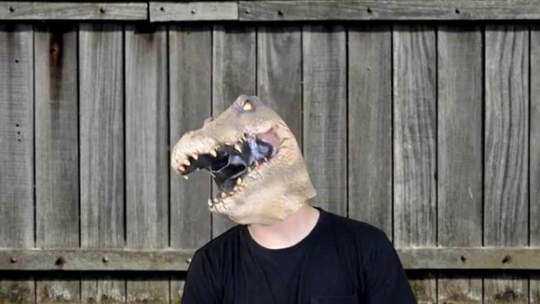 Alligator Deluxe Latex Mask
