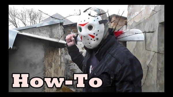 How To Make а Jason Voorhees Mask Costume Tutorial Mortal Kombat