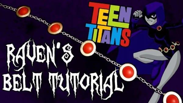❤❤cosplay Crafting  Teen Titans Raven's Belt Tutorial!❤❤