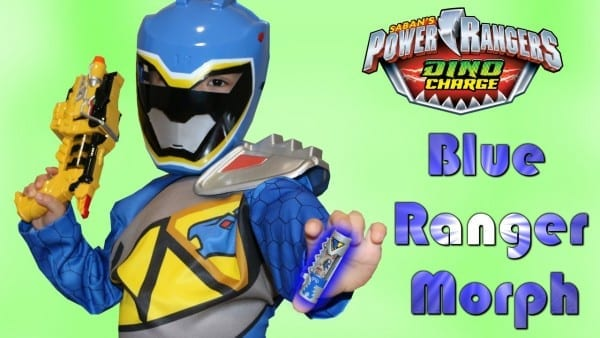 Power Rangers Dino Charge Blue Ranger Morph Fan Video With Ckn