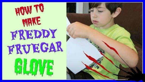 ✋ Homemade Freddy Krueger Glove ✋ ~ Easy!
