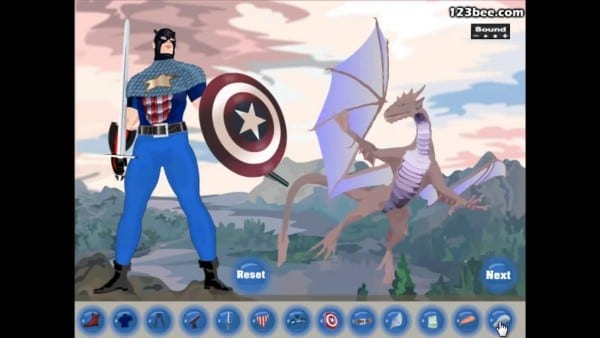 How To Play Captain America Dress Up
