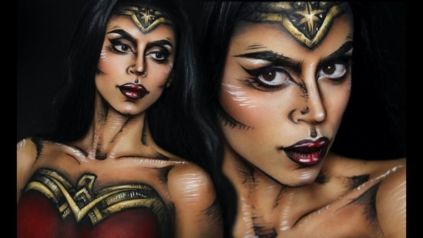Comic Book Wonder Woman Tutorial (painted Costume)