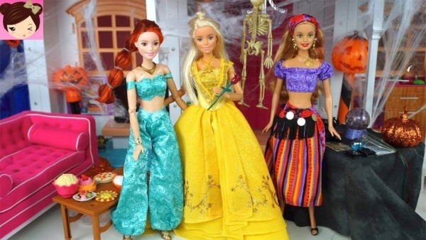Barbie Halloween Costume Dress Up Party