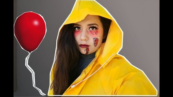 Easy Georgie (it) Makeup And Costume!